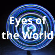 LED Mini Hoops - Eyes of the World