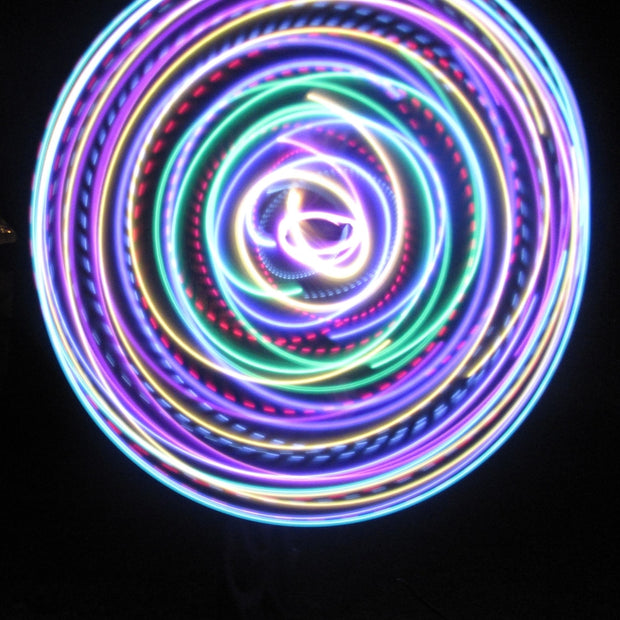 LED Hoops - Spring Flow
