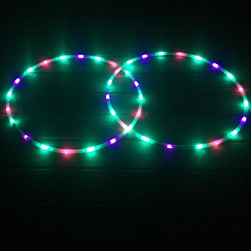 Bali Blossoms Mini LED Hoops