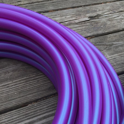 Polypro Hoops - UV Color Shift Tanzanite