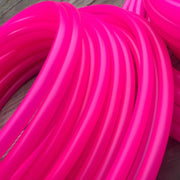 Polypro Hoops - UV Pink Sapphire