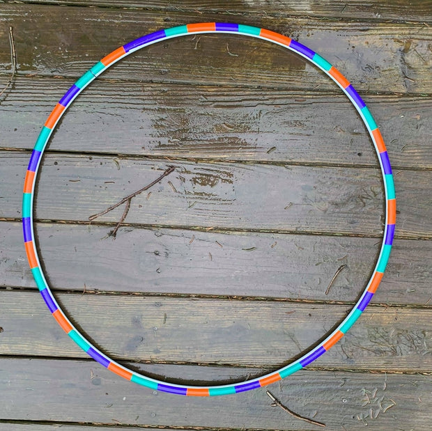 Primary Contemporary (Coin Flip) Reflective Hoop