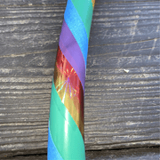 "<img src=""Rainbow-Ombre-Beginner-Hoop-by-Autumn-Flow.jpg""alt=""rainbow colors green, yellow, red, purple, and blue in grip, shiny, and electric tape against wood background"">"