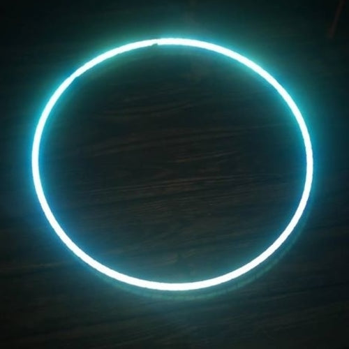 Blue Sky Reflective Color Morph Hoop