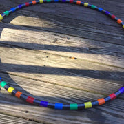 Reflective Hoops - Broken Rainbow Reflective Hoop