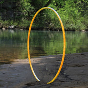 Reflective Hoops - Citron Reflective Color Morph Hoop