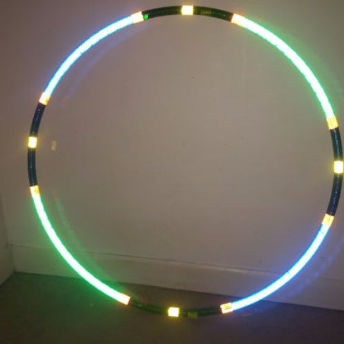 Reflective Hoops - Earth Invader Reflective Hoop