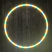 Summer Flow Reflective Hoop