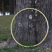 Reflective Hoops - Yellow Opal Reflective Color Morph Hoop