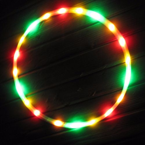 LED Hoops - One Love