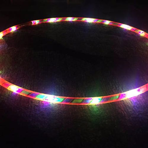 LED Hoops - Unicorn Horn
