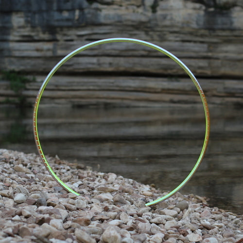 Taped Hoops - Ignis Hologlitter Color Morph