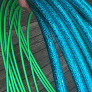 Taped Hoops - Teal Sequence