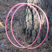 Taped Hoops - UV Pink Firefly Color Morph Taped Hoop
