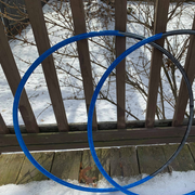 The Blue Side of the Moon Reflective Hoop