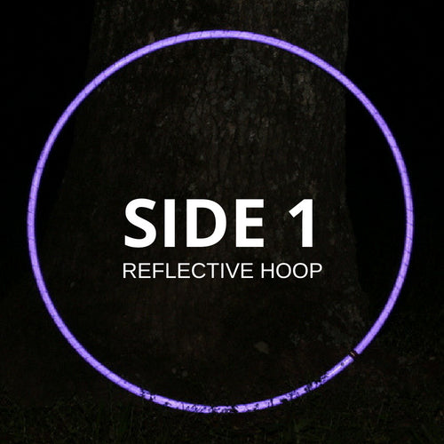 Two Sided Reflective Hoops
