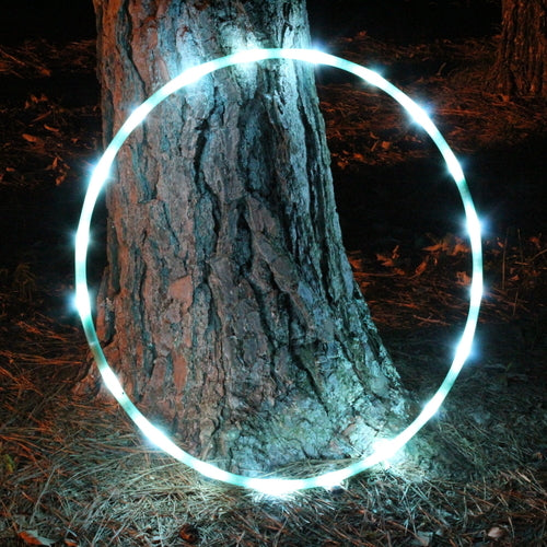 UV Green Calcite Polypro LED Hoop