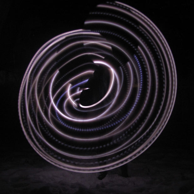UV Morganite Polypro LED Hoop