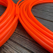UV Radioactive Glossy Solar Orange Polypro Hoop