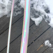 "<img src=""Pearl-White-Taped-Day-Hula-Hoop.jpg""alt=""pearl white taped day hula hoop tubing on a snowy wooden deck"""