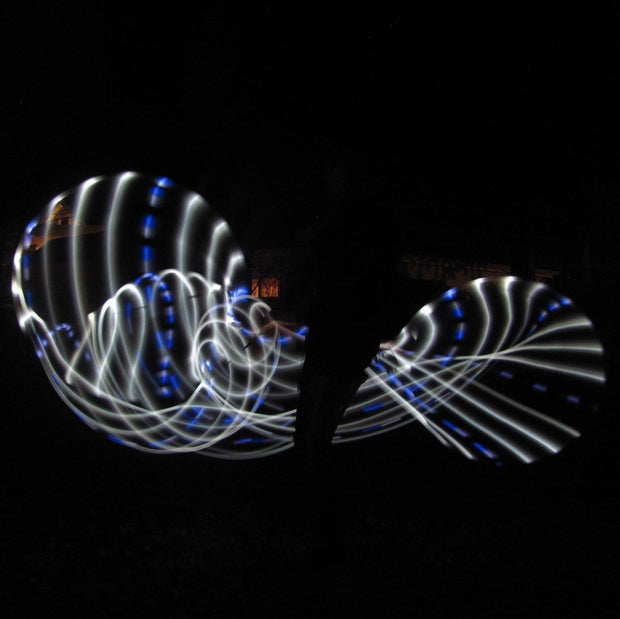 LED Hoops - Winter Flow