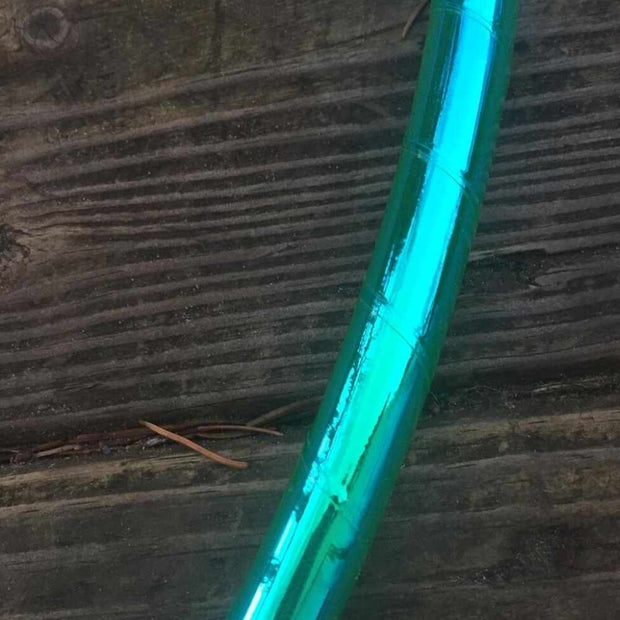 "<img src=""Amazon-Green-Color-Morph-Reflective-Hula-Hoop.jpg""alt=""amazon green colored tape hoop on a wooden deck"""