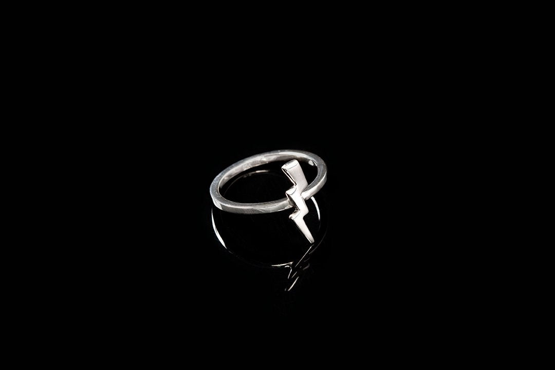 Lightening Bolt Stacker/Forefinger Ring