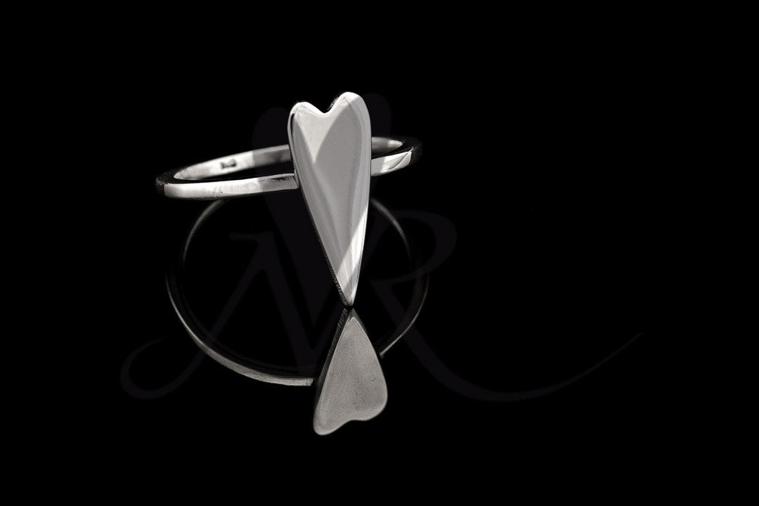 Heart Stacker/Forefinger Ring
