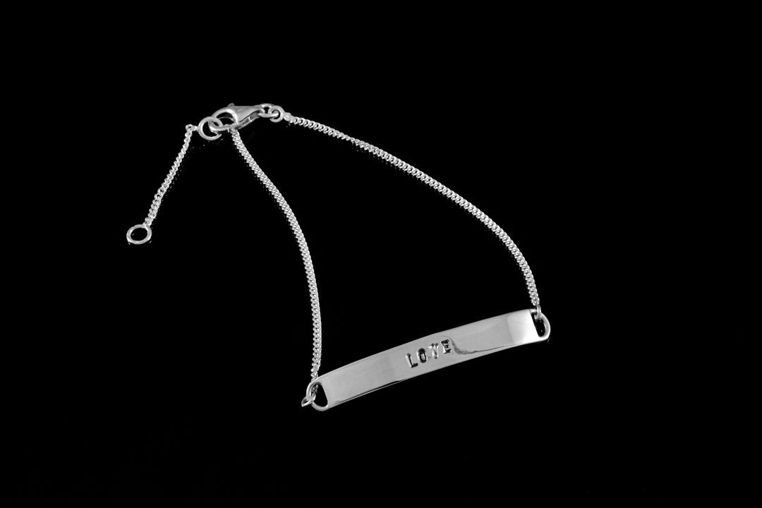 Wrist Plate - Love or Faith