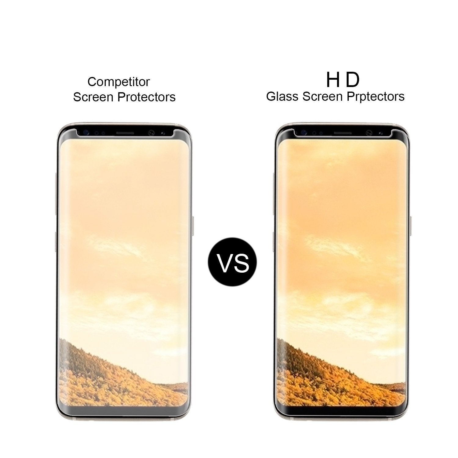 Galaxy S8/S8+ Tempered Glass Screen Protector