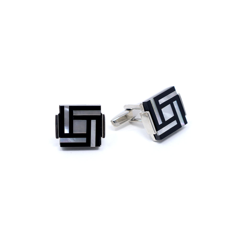 Pearl Square Cufflinks