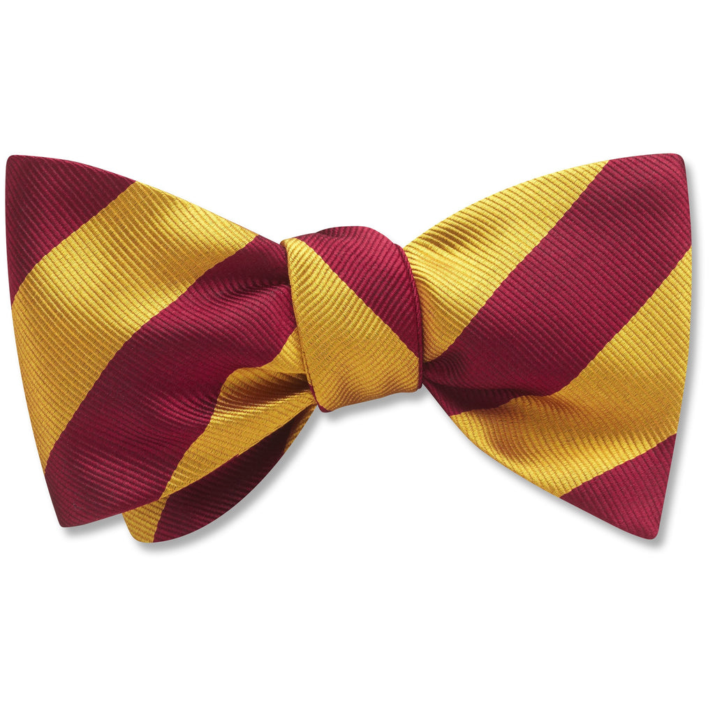 academy-goldmaroon-pet-bow-tie
