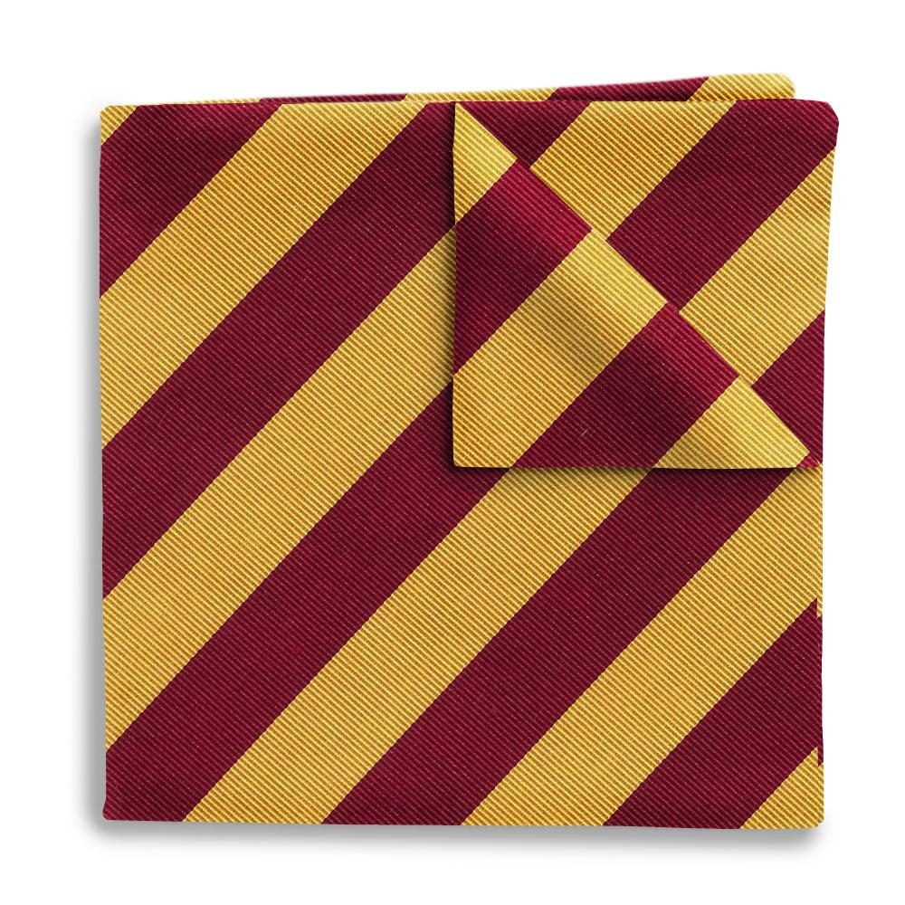 Academy Gold/Maroon Pocket Squares