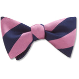 Academy Pink/Navy - bow ties