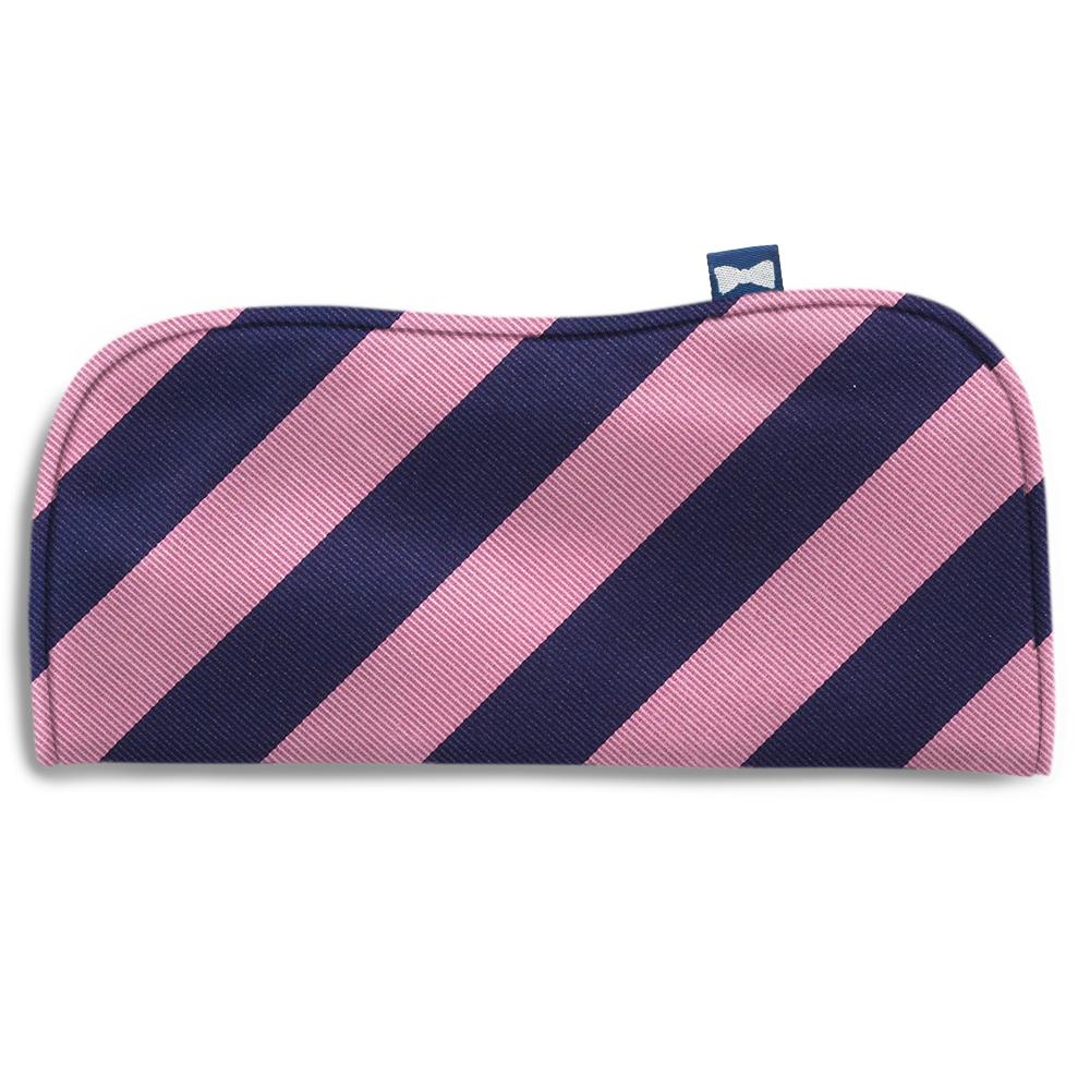 Academy Pink/Navy Eyeglass Cases