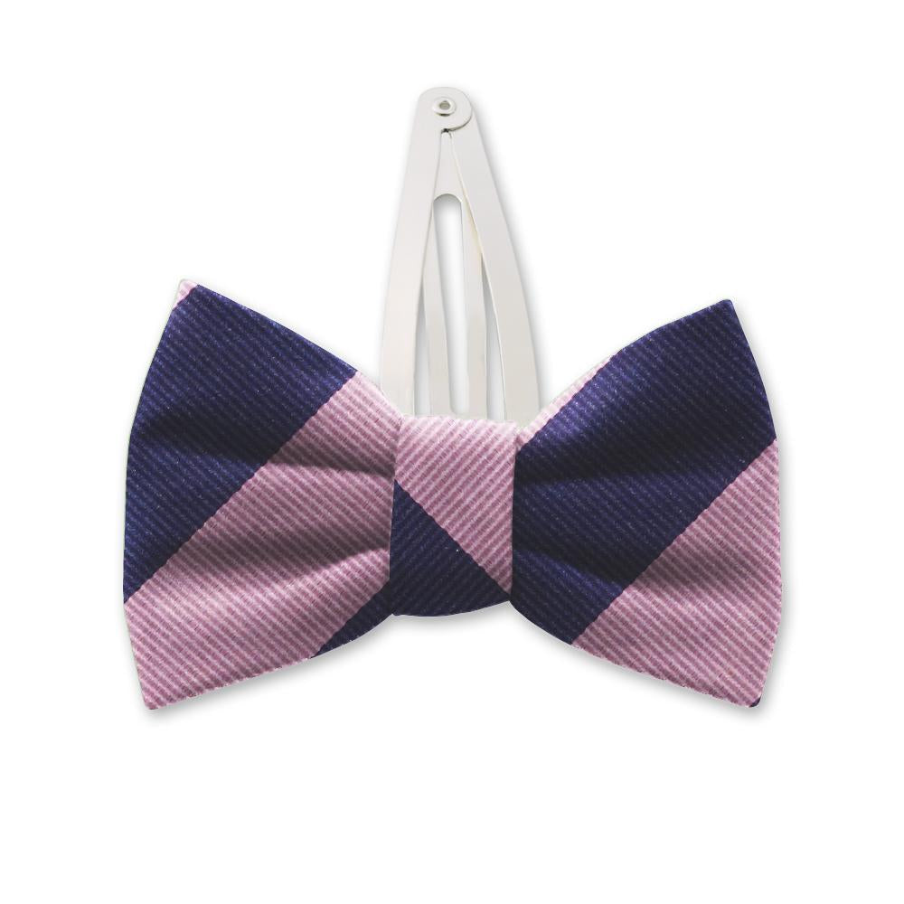 Academy Pink/Navy Kids Hair Clips