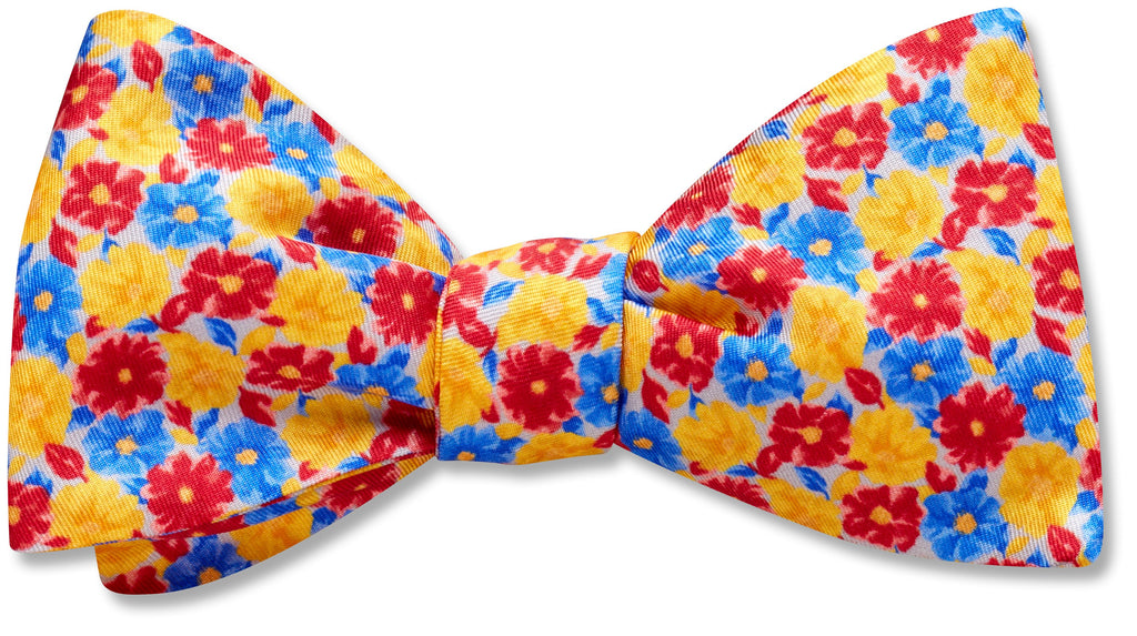 Aster Meadow - bow ties