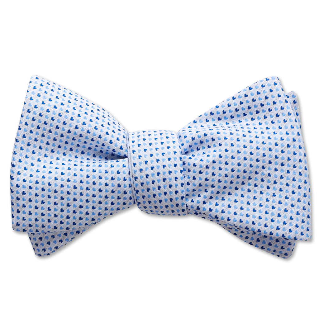 Blue Heart - bow ties