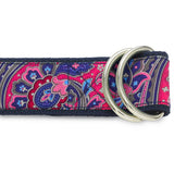 Barshaw Pink - D-Ring Belts
