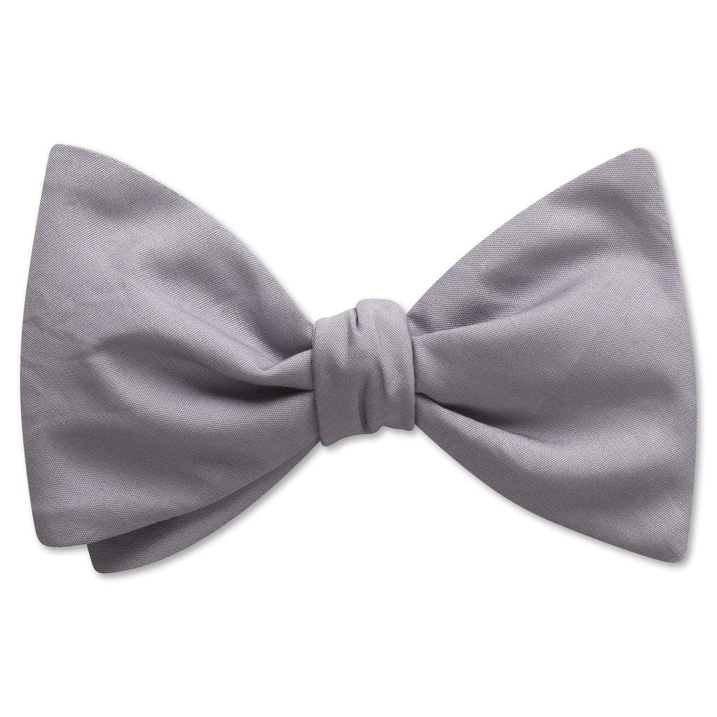 Bufferton Grey - bow ties