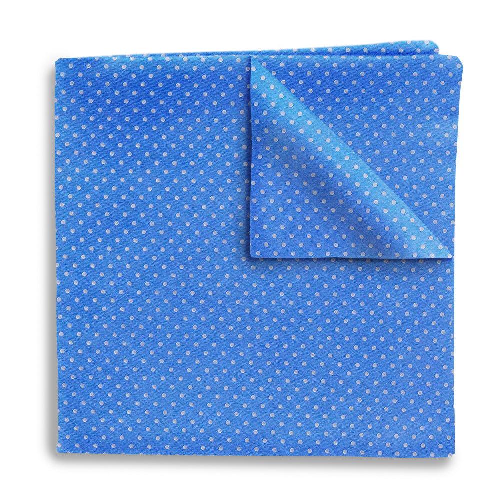 Blue Sky Polka - Pocket Squares