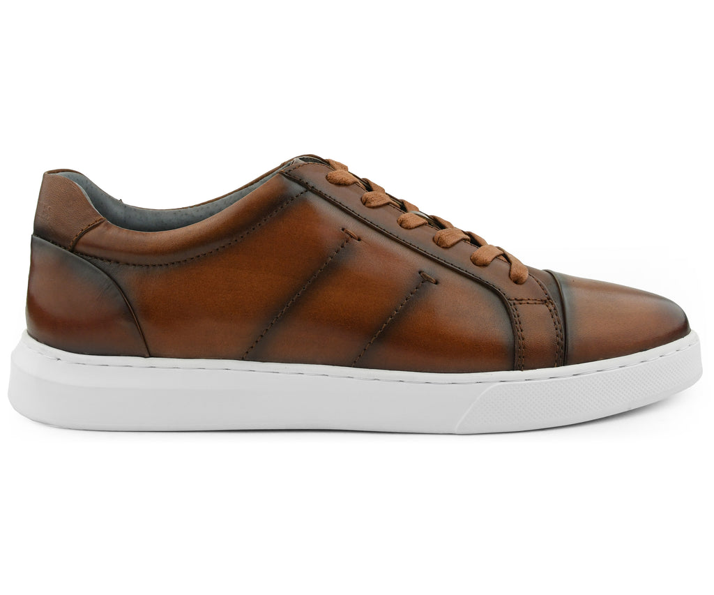 Cowboy Brown Leather Sneaker