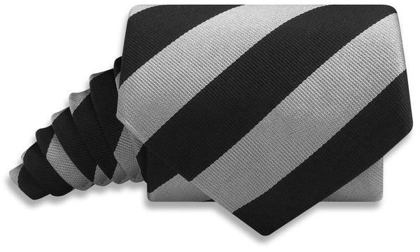 Collegiate Black And Silver - Neckties