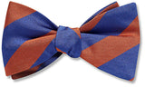 Collegiate Blue And Orange - bow ties