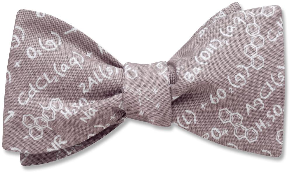 Chemistry Equation - bow ties