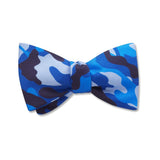 Camo Blue - Kids' Bow Ties