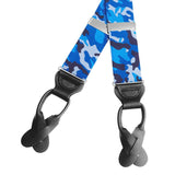 Camo Blue Braces/Suspenders