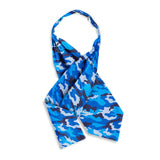 Camo Blue Cravats