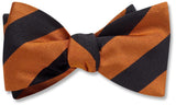 Collegiate Orange And Black - bow ties