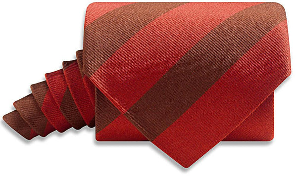 Collegiate Crimson And Brown - Neckties